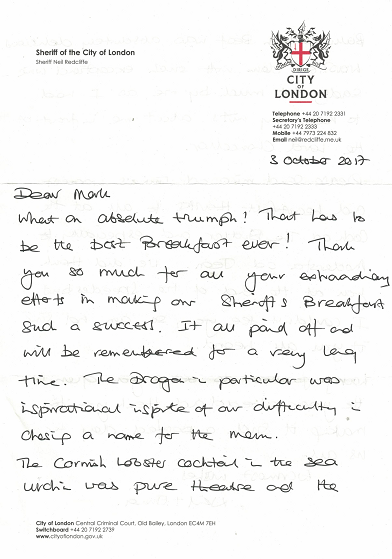 Catering in london the cook and the butler references hackney carriage drivers reference letter expocarfo Choice Image